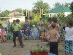 В поселке Коксовом открыта новая детская площадка