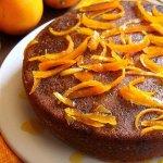 Рецепт: Апельсиновый пирог с оливковым маслом