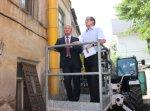 Вице-губернатор Ростовской области Сергей Горбань проверил, как в Ростове идёт капитальный ремонт