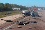 На трассе Волгоград - Москва, Волга врезалась в пассажирский автобус, два человека погибли