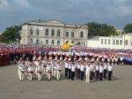 В Новочеркасске cводный казачий хор из 3681 человек установил рекорд в подержку Новочеркасского собора