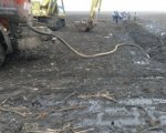 В Алексеевском районе Волгоградской области произошел порыв нефтепровода