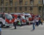 В Волгограде  состоялась  выставка пожарно-спасательной техники