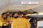 Таганрогские священники совершили воздушный крестный ход