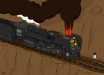 Из-за нарушения правил пожарной безопасности в Ростове чуть не сгорел локомотив