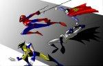 Супергерои комиксов являются частью искусства
