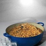 Рецепт: гречневая каша с белыми грибами и пармезаном
