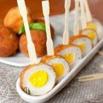 Рецепт: перепелиные яйца по‑шотландски
