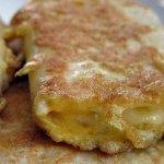 Рецепт: Жареный сыр в лаваше