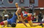 На прошедшем чемпионате ЮФО по борьбе краснодарские спортсменки завоевали 40 медалей