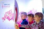 В Краснодаре Олимпийский факел повезут на комбайне