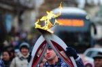 В Ростов эстафета  олимпийского огня растянется на 42 километра