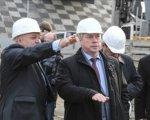 Василий Голубев посетил место строительство моста дублера Ворошиловского моста