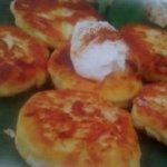Рецепт: сырники с яблоками