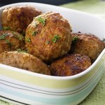 Рецепт: грибные котлеты с зеленью и орехами