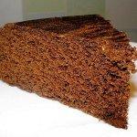 Рецепт: бананово-шоколадный кекс в микроволновке