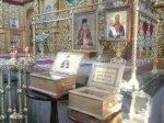 В Шахтах можно  поклониться мощам святых праведников Луки Крымского и Фёдора Ушакова