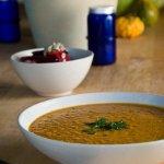Рецепт: африканский гороховый суп с яблоками
