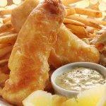 Рецепт: золотистые рыбные палочки из морского языка с соусом тартар