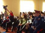 Белокалитвинские кадеты побывали в гостях у школьников CОШ п. Коксовый