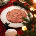 Рецепт: тартар из говядины с кимчи