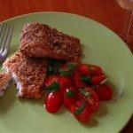 Рецепт: филе судака в орехово-сырной панировке