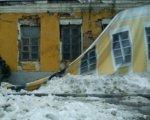 Ветхие дома Ростова спрячут под баннерами