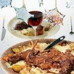 Рецепт: кролик в красном вине
