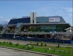 На привокзальную площадь аэропорта Сочи въехать можно только по олимпийским пропускам