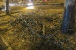 На Краснодарский край обрушился ледяной дождь