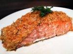Рецепт: лосось, запеченный в горчице