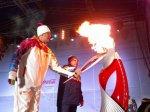 В Ростове торжественно завершили эстафету зимних Олимпийских игр в Ростове
