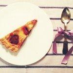 Рецепт: пирог клубничный со сметаной