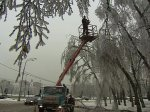 Дорожные службы Анапы приведены в повышенную готовность из-за ледяного дождя