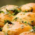 Рецепт: чесночные пампушки к борщу