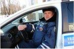 Сотрудник ДПС на Кубани спас молодую семью с ребенком из снежного плена