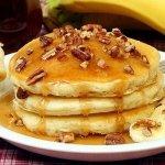 Рецепт: банановые оладьи с овсяной мукой