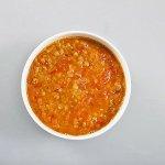 Рецепт: чечевичный суп с томатами