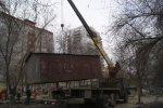 Советский районный отдел судебных приставов Управления ФССП России по Ростовской области сносит гаражи по решению суда