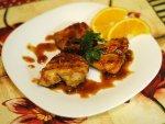 Рецепт: медовая курица на гриле