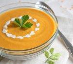 Рецепт: тыквенный суп со сливками