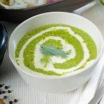 Рецепт: крем-суп из черемши
