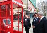 В Краснодаре начали устанавливать кабинки в виде английских телефонных будок