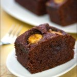 Рецепт: шоколадный кекс с бананами