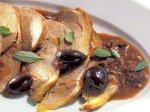 Рецепт: баранина с черными оливками