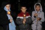 Праздник Пасхи в поселке Коксовом