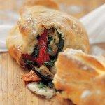 Рецепт: панини с овощами на гриле и сыром моцарелла