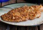 Рецепт: тилапия в миндальной панировке