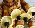 Рецепт: шашлыки по‑гречески