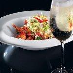 Рецепт: салат с курицей в азиатском стиле